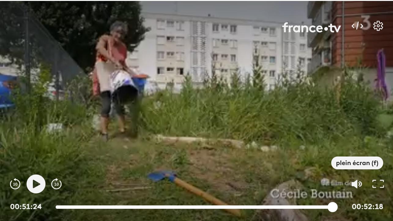 Reportage sur Chamarel les Barges - France 3
